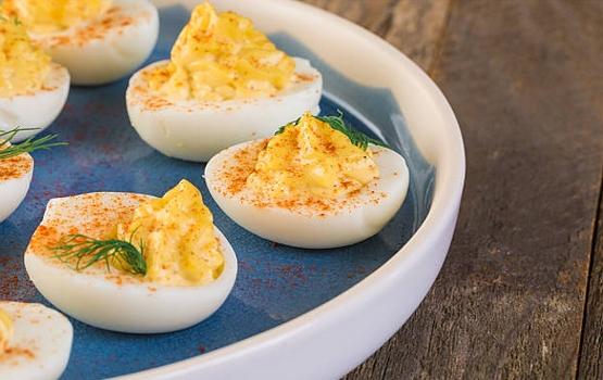 Jajka z majonezem