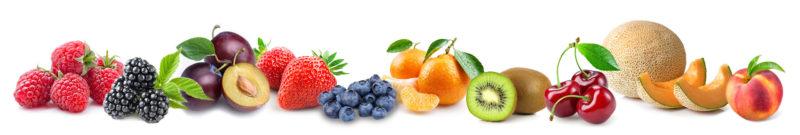 10 owoców o niskiej zawartości węglowodanów